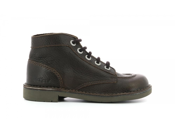 KICK COL DARK BROWN