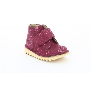 Kickers NEOKRAFTY BURGUNDY METAL LIC
