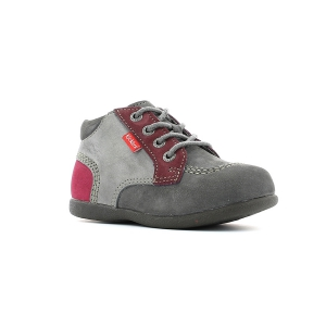 Kickers BABYSTAN GREY FUSCHIA
