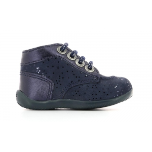 Kickers BONBON NAVY METALIC
