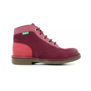 Kickers KICK COL BORDEAUX ROSE