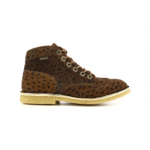 Kickers KICK LEGEND DARK BROWN POIS BLACK