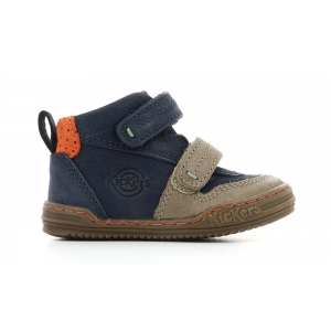 Kickers JINTABA marrone BLU SCURO