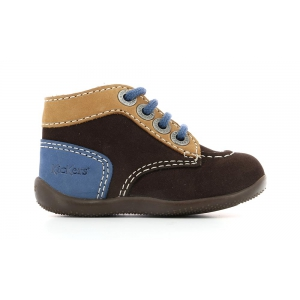 Kickers BONBON BROWN BEIGE BLUE
