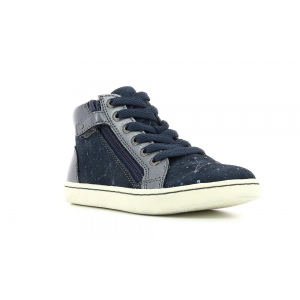 Kickers LYLUBY NAVY METALLIC