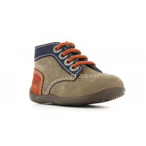 Kickers BONBON GREY NAVY ORANGE