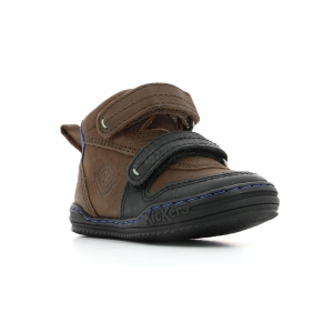 Kickers JINTABA BLACK BROWN