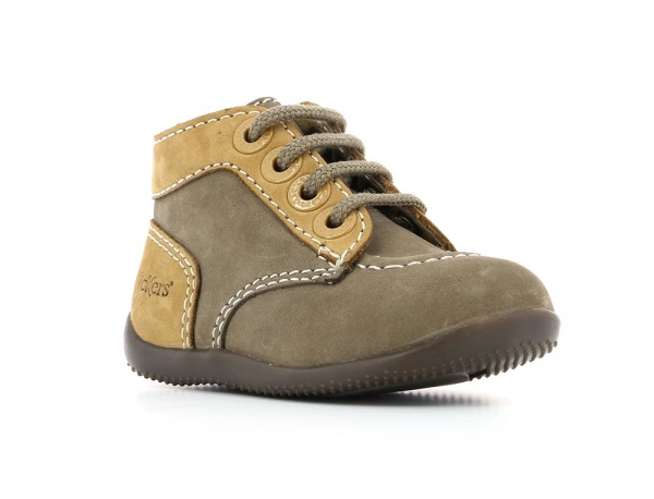 Kickers BONZIP GREY CAMEL