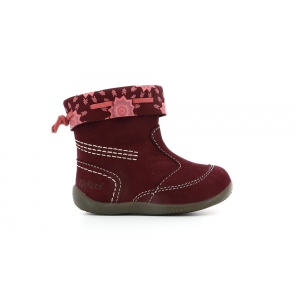 Kickers BELLO BURGUNDY PRINT SPIRIT