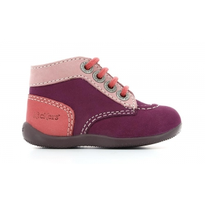 Kickers BONBON PURPLE PINK LIGHT PINK
