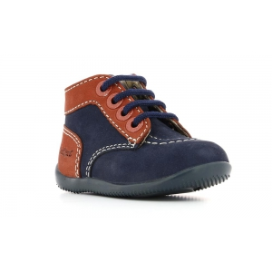 Kickers BONZIP NAVY ORANGE
