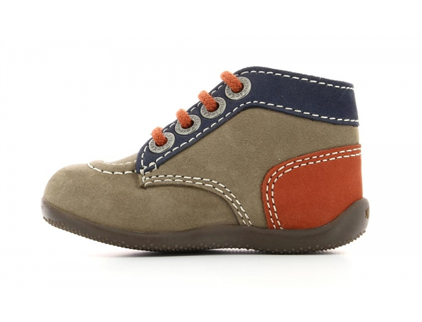 BONBON GREY NAVY ORANGE