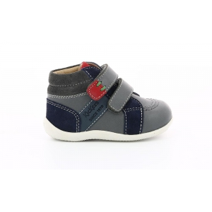 Kickers BAKA GREY NAVY ORANGE