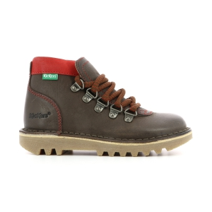 Kickers NEOVARAP BROWN RED
