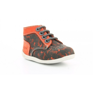 Kickers BONBON GREY ORANGE