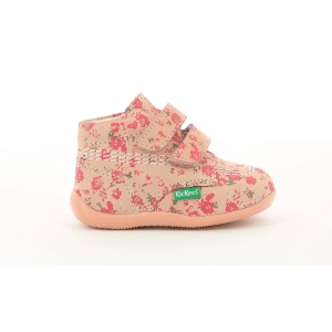 Kickers BILLY VELK PINK CORAIL FLOWERS