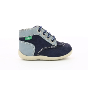 Kickers BONZIP LIGHT BLUE NAVY