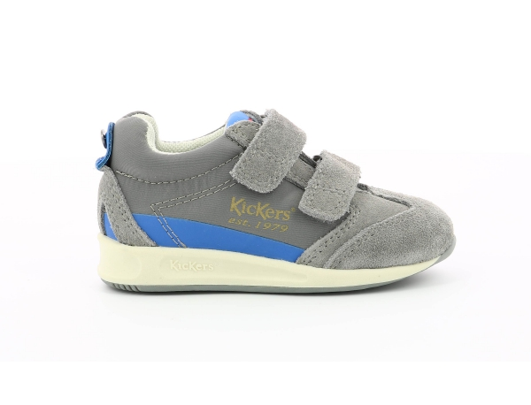 KICK 18 BB VLC GREY  BLUE