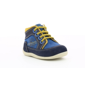 Kickers BIBOY BLUE YELLOW