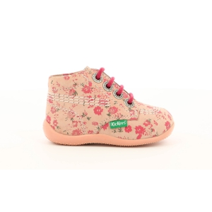 Kickers BILLY PINK CORAIL FLOWERS
