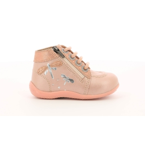 Kickers BAHALOR PINK METAL
