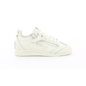 Kickers KICK 18 CDT ZIP BLANC  OR CLAIR