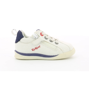 Kickers CHICAGO BB BIANCO BLU SCURO