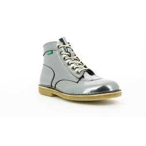 Kickers KICK LEGEND DARK GREY MIRROR