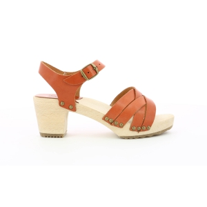 SATINE CAMEL BRIQUE