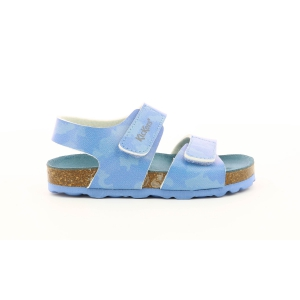 Kickers SUMMERKRO BLUE CAMOUFLAGE