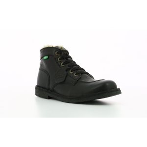Kickers KICKSTONER BLACK BLACK SOLE