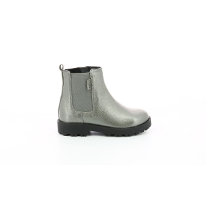 Kickers GRIZLY GRIS METALLISE