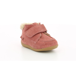 Kickers BAMBA FUR ROSE ANTIQUE