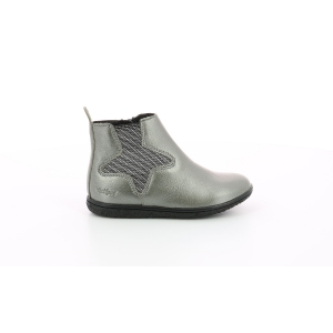 Kickers VERMILLON METALLIZED GREY