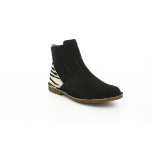 Kickers TINTO BLACK PRINTED ZEBRA