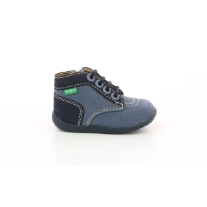 Kickers BONZIP-2 BLUE DENIM