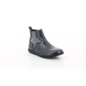 Kickers VERMILLON METALLIZED NAVY