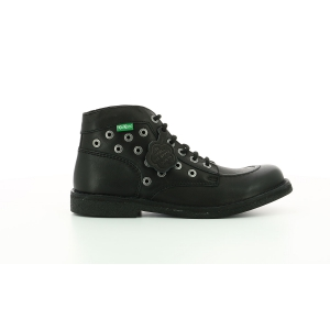 Kickers KICKSTONER BLACK ROCK BLACK SOLE
