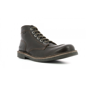 Kickers KICKSTONER marrone scuro